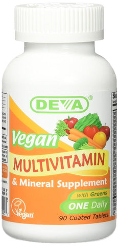 Deva Nutrition Vegan Iron Free Multivitamin and Mineral