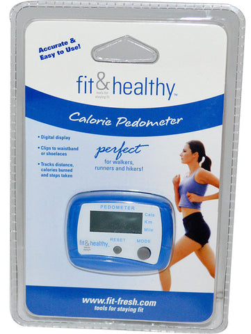 Fit and Healthy Pedometer