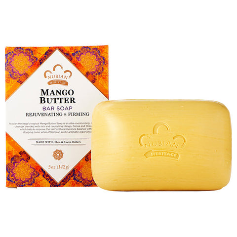 NUBIAN HERITAGE - Mango Butter Bar Soap