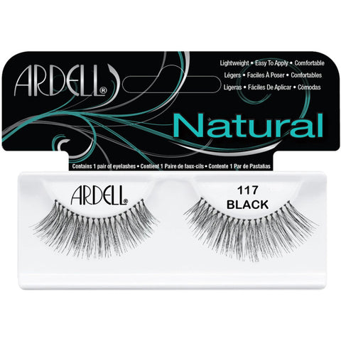 ARDELL - Natural Lashes #117 Black