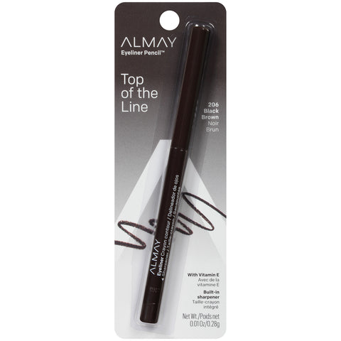 ALMAY - Eyeliner Pencil Black/Brown 206