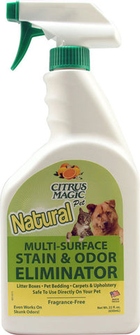 CITRUS MAGIC - Pet Odor Eliminator Trigger Spray