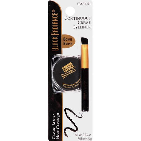 BLACK RADIANCE - Continuous Creme Eyeliner Classic Black