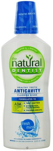 Natural Dentist Anticavity Fluoride Rinse Fresh Mint
