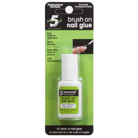 5 SECOND - Brush On Nail Glue