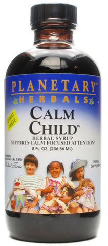 Planetary Herbals Calm Child Herbal Syrup Liquid
