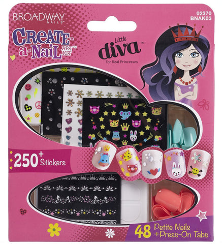 KISS - Broadway Little Diva Nail Art Kit