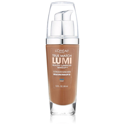 L'OREAL - True Match Lumi Makeup C7-8 Nut Brown/Cocoa