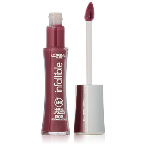 L'OREAL - Infallible 8HR Le Gloss 515 Undeniable Mauve