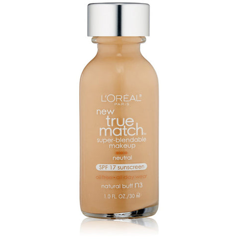 L'OREAL - True Match Super-Blendable Makeup N3 Natural Buff