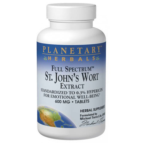 Planetary Herbals St Johns Wort Extract Full Spectrum