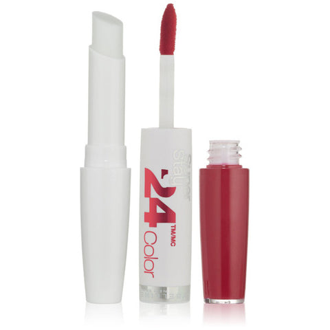 MAYBELLINE - SuperStay 24 2-Step Lipcolor 035 Keep It Red