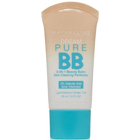 MAYBELLINE - Dream Pure BB Cream Skin Clearing Perfector 110 Light/Medium