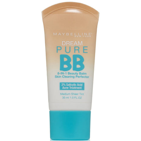 MAYBELLINE - Dream Pure BB Cream Skin Clearing Perfector 120 Medium