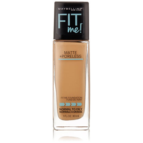 MAYBELLINE - Fit Me Matte + Poreless Foundation 322 Warm Honey