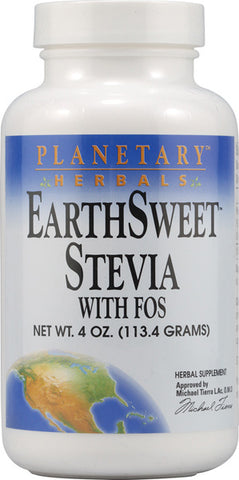 Planetary Herbals EarthSweet Stevia with FOS