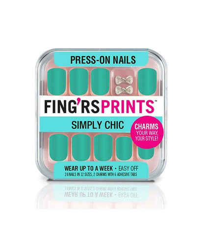 FING'RS - Simply Chic Press-On Nails Green