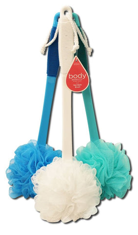 BODY BENEFITS - Net Bath Brush Assorted Colors