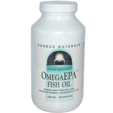 Source Naturals OmegaEPA Fish Oil