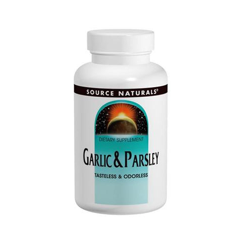 Source Naturals Garlic Parsley