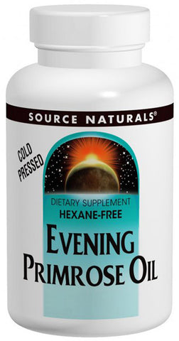 SOURCE NATURALS - Evening Primrose Oil 500mg (50mg GLA) - 60 softgel