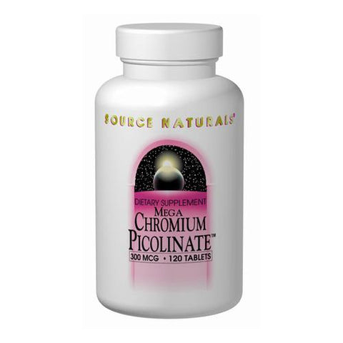 Source Naturals Mega Chromium Picolinate