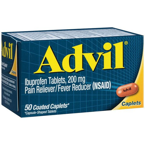 ADVIL - Ibuprofen 200 mg Pain Reliever Fever Reducer 200 mg