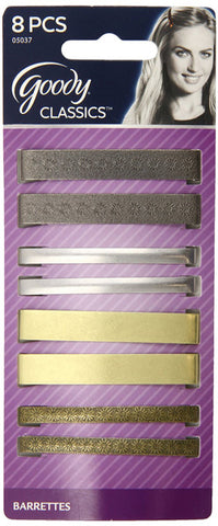 GOODY - Classics Metal Barettes 2 3/8 Inches