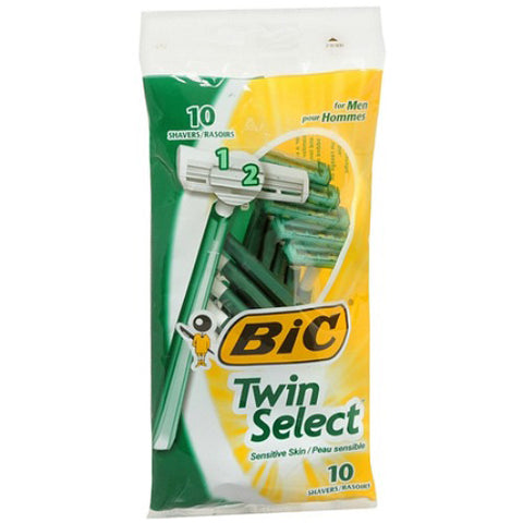 BIC USA - Twin Select Sensitive for Men Disposable Shaver
