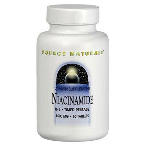 Source Naturals Niacinamide Time Release