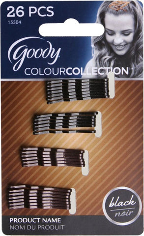 GOODY - Colour Collection Metallic Small Bobby Pin Black