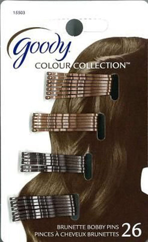 GOODY - Brown Bobby Pins