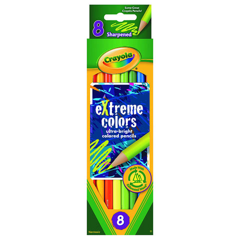 CRAYOLA - eXtreme Colors Colored Pencils
