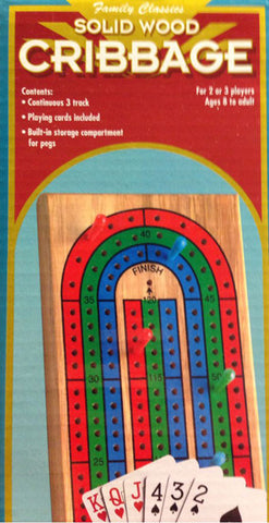 PRESSMAN - Folding Cribbage with Cards
