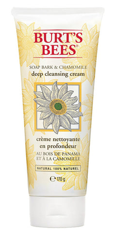 BURT'S BEES - Deep Cleansing Cream Soap Bark and Chamomile