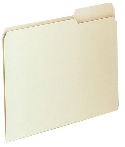 PENDAFLEX - 1/3 Cut Manila File Folders