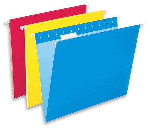 PENDAFLEX - Hanging Folders Assorted Colors