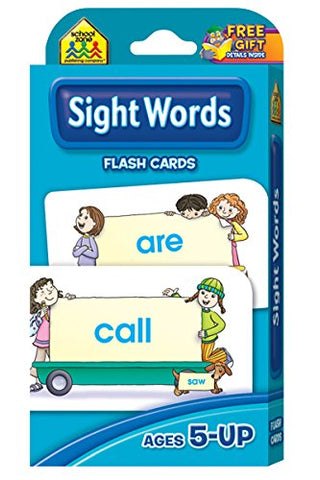 SCHOOL ZONE - Sight Words Flash Cards
