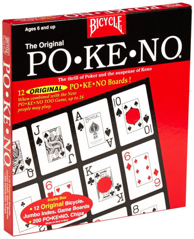 U.S. PLAYING CARDS - Jumbo Pokeno Game
