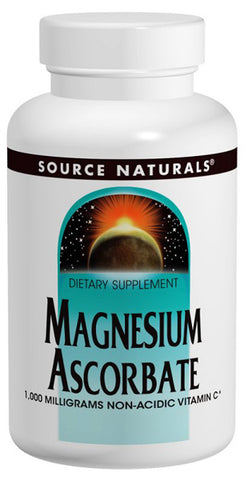 Source Naturals Magnesium Ascorbate 1077 mg Powder