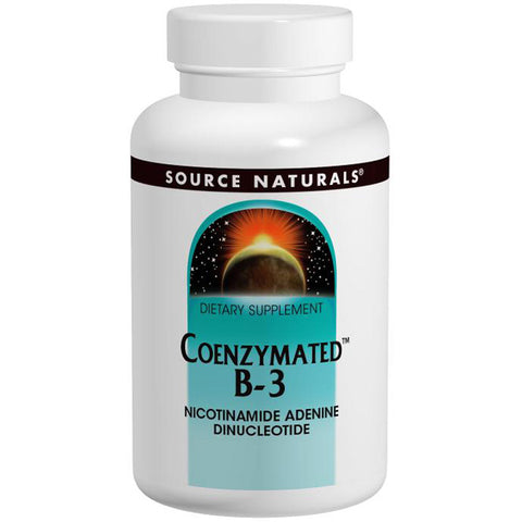 SOURCE NATURALS - Coenzymated B-3 25 mg Peppermint Lozenge
