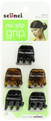 SCUNCI - No-slip Grip Chunky Jaw Clips Pack