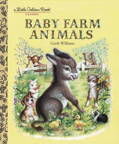 GOLDEN BOOKS - Baby Farm Animals
