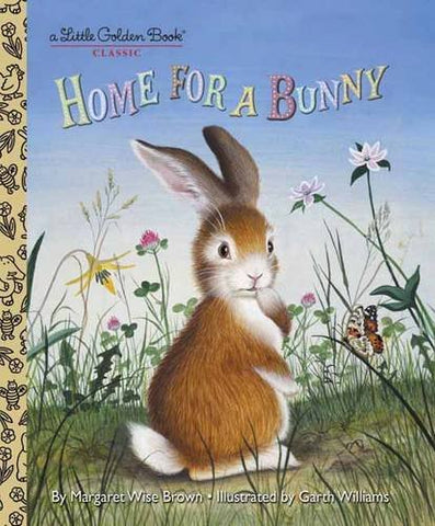 GOLDEN BOOKS - Home for a Bunny