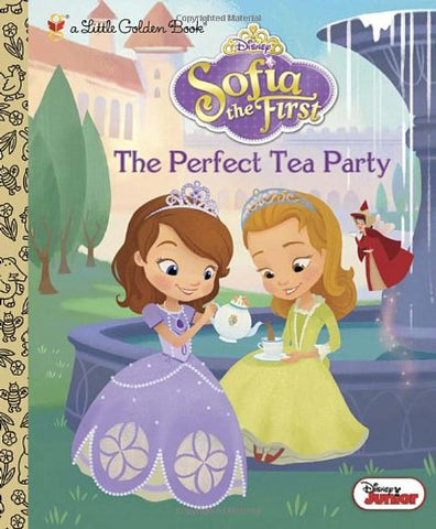 GOLDEN BOOKS - The Perfect Tea Party
