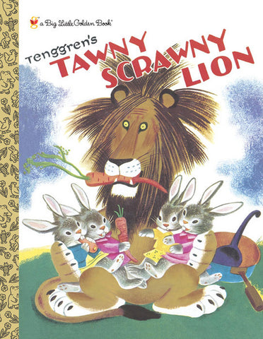 GOLDEN BOOKS - Tawny Scrawny Lion