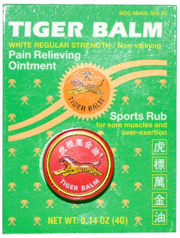 Tiger Balm Regular Strength White
