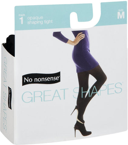 NO NONSENSE - Great Shapes Opaque Shaping Tight Black Medium