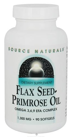 Source Naturals Flax Seed Primrose Oil