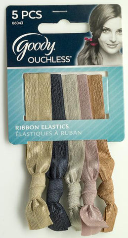 GOODY - Ouchless Tieback Neutral Ribbon Elastics